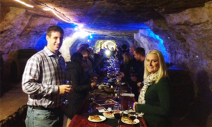 Luna Rossa - Stillwater: Cave Tour with Appetizer and Wine for Two or Four at Luna Rossa (Up to 46% Off)