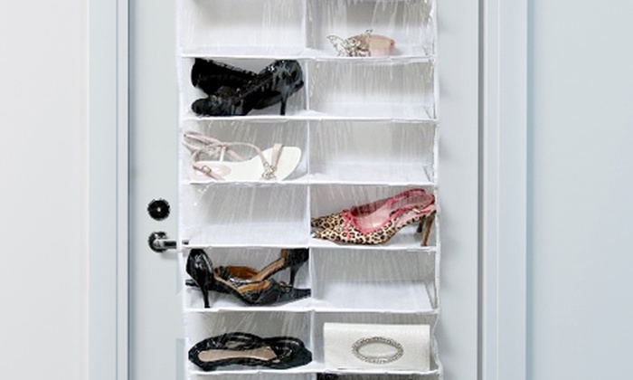 range chaussures suspendu groupon shopping. Black Bedroom Furniture Sets. Home Design Ideas