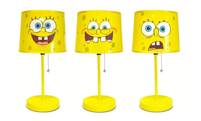 Spongebob squarepants table lamp groupon spongebob squarepants table lamp aloadofball Choice Image