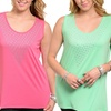 Women's Plus-Sized Embellished Tops