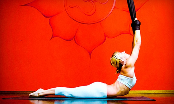 Airealistic Circus & Flying - San Buenaventura (Ventura): Aerial Fitness Classes at Airealistic Circus & Flying (Up to 79% Off). Four Options Available.