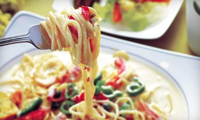 Cafe Pasta - Old Irving Park: Italian Dinner Fare at Café Pasta in Greensboro (Half Off). Two Options Available.