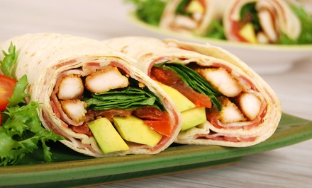 Wraps, Sandwiches, Salads, and Baked Goods at Chopt (Up to 50% Off). Two Options Available.