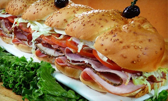 Kilroy's Sandwich Factory - Los Angeles: One or Two 6-Foot Sub Sandwiches with Delivery from Kilroy's Sandwich Factory (Up to 51% Off)