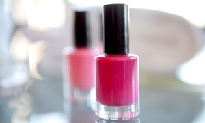 Sola Salon Studios: One or Two Deluxe Mani-Pedis at Sola Salon Studios (Up to 51% Off)