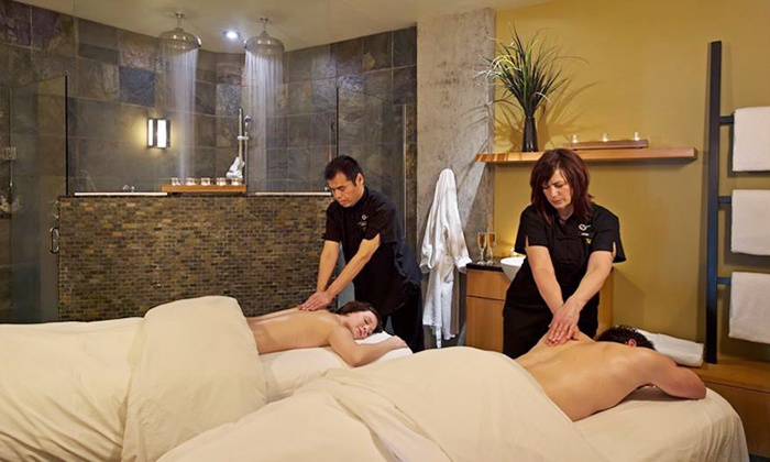 Brentwood Bay Resort & Spa - Brentwood Bay, BC:  Mani-Pedi or Couples Massage at Brentwood Bay Resort & Spa (Up to 35% Off)