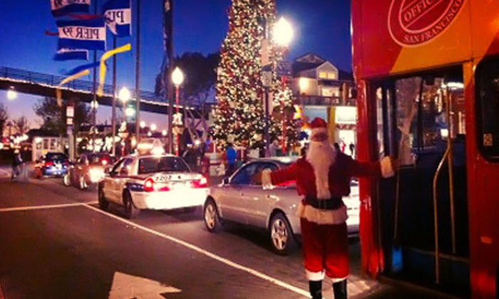 City Sightseeing - San Francisco: Holiday-Lights Tour from City Sightseeing (Up to 55% Off). Three Options Available.