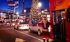 City Sightseeing - San Francisco - San Francisco: Holiday-Lights Tour from City Sightseeing (Up to 55% Off). Three Options Available.