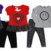 Baby Ziggles Toddler Girl 2-Piece Clothes Sets