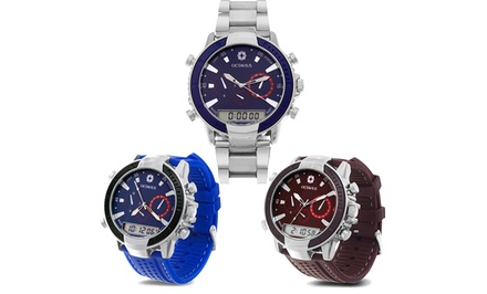 Octavius Men's Dual-Zone Artillery Watch