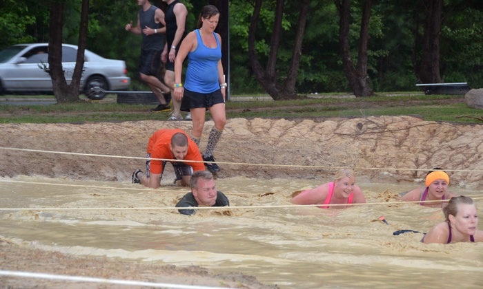 B-Town Fitness - Durham: $29 for Entry for One in Fright Night Mud Challenge at B-Town Fitness on October 28, 29, or 30 ($60 Value)
