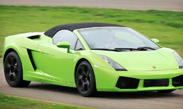 XTREME ADVENTURES - Verizon Wireless Ampitheatre: $119 for a Exotic Vehicle Driving Experience in a Lamborghini or Ferrari from Xtreme Adventures ($249 Value)