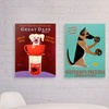 Ken Bailey Pet-Themed Canvas Print