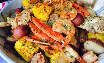 image for <strong>Seafood</strong> For Two at Lighthouse Lobster Feast (Up to 45% Off)