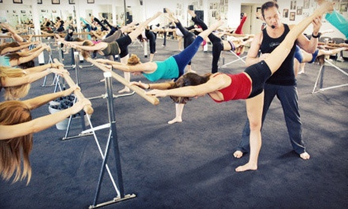 Cardio Barre - Cardio Barre : $39 for 10 Cardio-Barre Fitness Classes at Cardio Barre Costa Mesa ($160 Value)