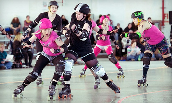 ToRD vs Royal City RG - Clanton Park: $18 for Toronto Roller Derby Bout Against Royal City RG on Saturday, October 20, at 6 p.m. (Up to $36 Value)