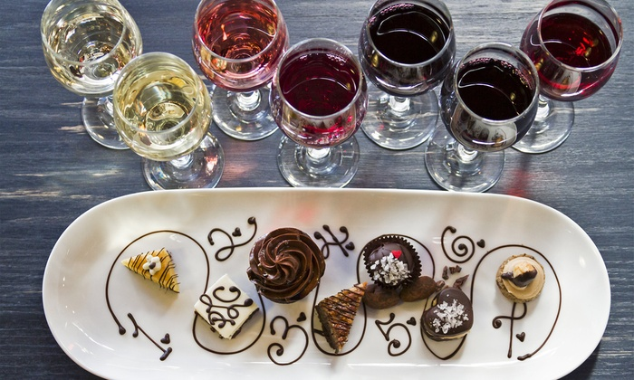 Desserts and Cocktails at Castle - Near North Side: Savor Chocolate, Desserts, and Cocktails at Castle
