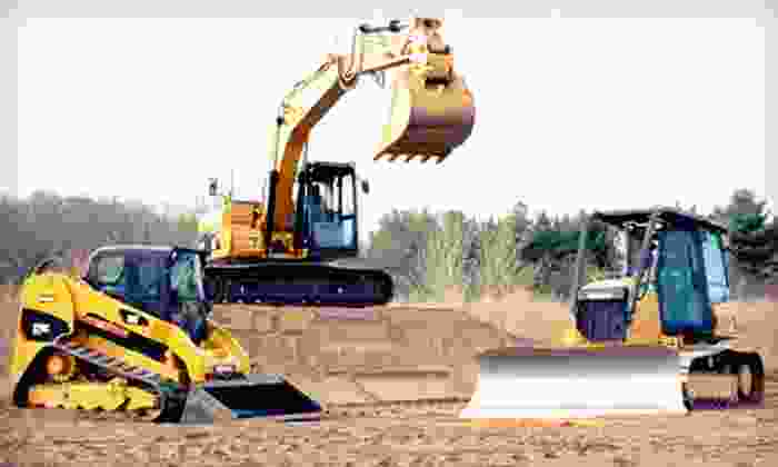 Extreme Sandbox - Hastings: Construction-Vehicle Driving Adventure for One, Two, or Up to Four at Extreme Sandbox in Hastings (Up to 54% Off)