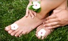 Aroma Spa - Lakeview: $44 for Two Groupons, Each Valid for a Mani-Pedi at Aroma Spa ($90 Value)