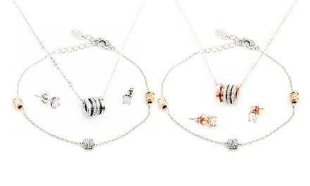 1 o 2 sets de pulsera, pendientes y collar modelo Mayfair