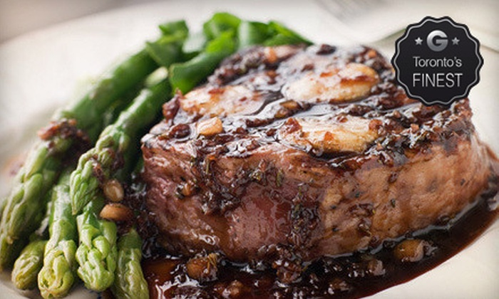 Prime - Windsor Arms Hotel Tea Room: $69 for a Three-Course Prix Fixe Modern Steak-House Dinner for Two at Prime ($140 Value)