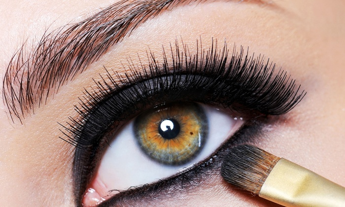 4Ever Nails & Salon - North End: Black or Mink Eyelash Extensions with Optional Refill at 4Ever Nails & Salon (Up to 77% Off)