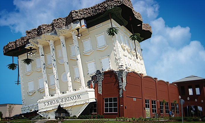 WonderWorks - Panama City Beach - The Glades: $24 for General Admission Tickets for Two to WonderWorks - Panama City Beach (Up to $47.98 Value)