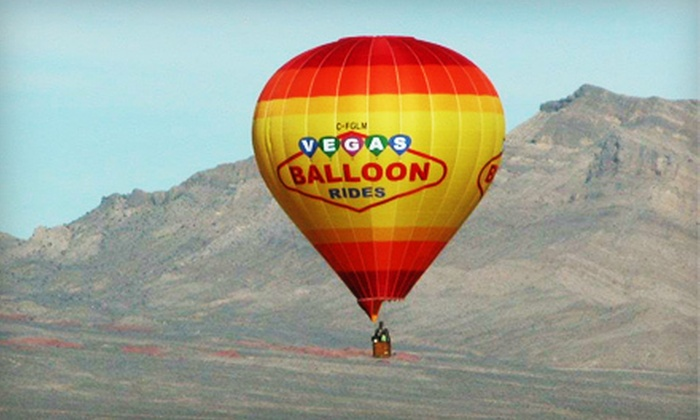 Vegas Balloon Rides - Las Vegas: Weekday or Weekend Sunrise Hot Air Balloon Ride for Two from Vegas Balloon Rides (Up to 55% Off)