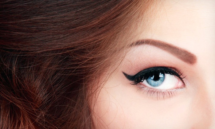 Amy Hansen's Permanent Cosmetics - Bountiful: Permanent Makeup for Upper, Lower, or Both Eyelids, or Eyebrows from Amy Hansen's Permanent Cosmetics (Up to 56% Off)