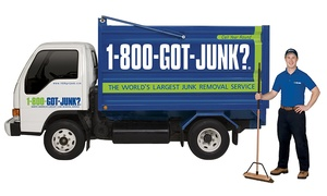 1-800-GOT-JUNK?: TV or Sofa Removal Services from 1-800-GOT-JUNK? (Up to 50% Off)
