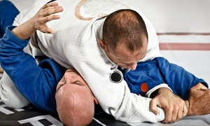 Gracie Combat Jiu-Jitsu Academy: One- or Two-Month Jiu-Jitsu Membership at Gracie Combat Jiu-Jitsu Academy (Up to 91% Off)