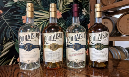 Rum Tastings and Tour for Two or Four at Roulaison Distilling (Up to 38% Off)