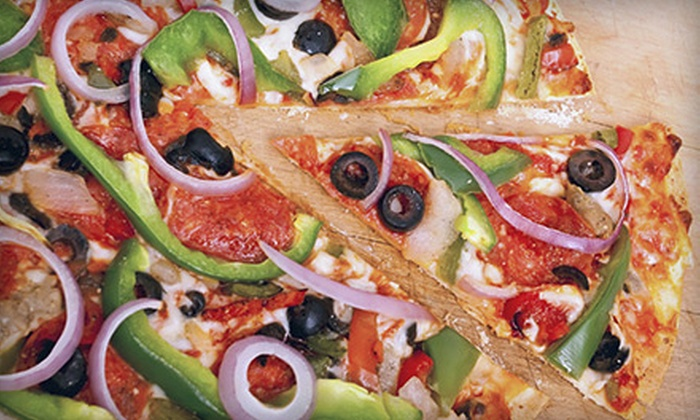 FDB Eatery - Falls Church: $14 for a Large Specialty or Four-Topping Pizza and Salad at Frozen Dairy Bar and Boardwalk Pizza (Up to $30.95 Value)
