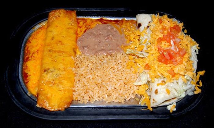La Frontera - Amarillo: Mexican Food at La Frontera (Half Off). Two Options Available.