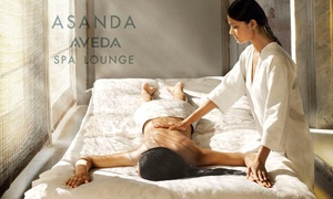 Asanda Spa Lounge: One or Two 50-Minute Signature or Specialty Massages at Asanda Aveda Spa Lounge (Up to 54% Off)