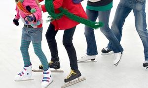 BTB SPRL: Un accès à la patinoire et location des patins pour 1 personne dès 3€