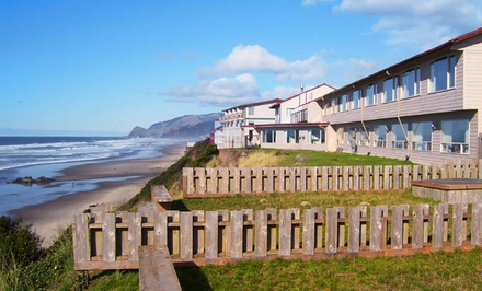 2-Night Stay with Breakfast Credit at Sea Horse Oceanfront Lodging in Lincoln City, OR