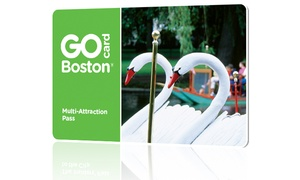 Go City Card:  Go Boston Card All-Inclusive 2-Day Pass includes admission to 50+ attractions for 2 days. Pay Nothing at The Gate.