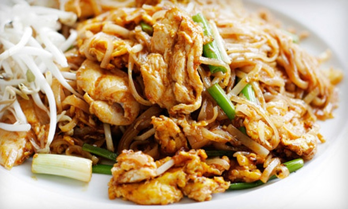 Potjanee Authentic Thai Restaurant - West Village: Thai Brunch for Two or Four at Potjanee Authentic Thai Restaurant (Up to 58% Off)