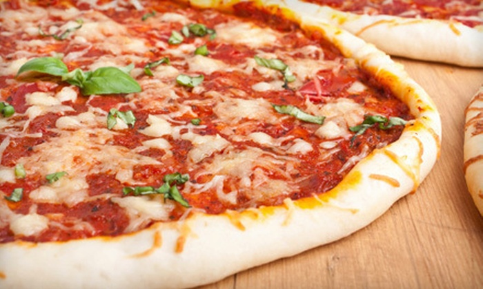 Francesco's Pizzeria - Windhover,Convention Center,Cypress Fairway: Pizza Meal for Two or Four with Pizza, Appetizers, and Dessert at Francesco's Pizzeria (Up to 59% Off)