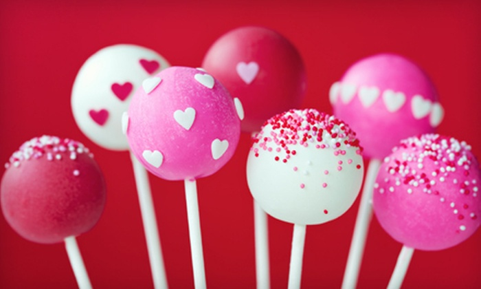 3D Cakes Design - Ozark: One or Two Dozen Custom Valentine's Cake Pops with Delivery from 3D Cakes Design (Up to 59% Off)