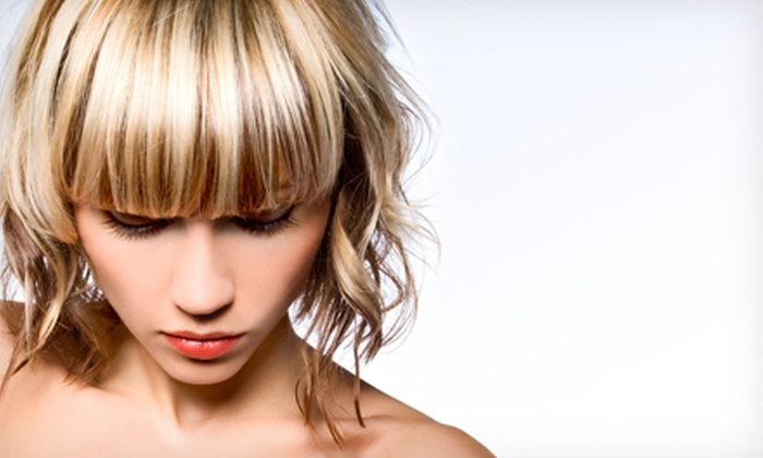 EnVision Hair Studio - Bedford - Stuyvesant: Haircut with Deep-Conditioning Treatment and Optional Partial or Full Highlights at EnVision Hair Studio (Up to 63% Off)