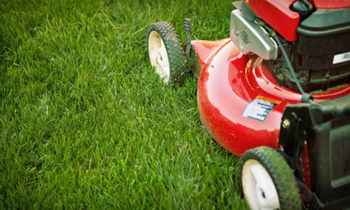 J and K Lawn Care - Springfield: One or Two Lawn-Mowing Sessions for Up to a Half Acre from J & K Lawn Care (Up to 56% Off)