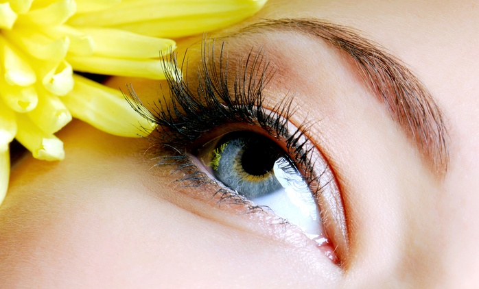 Full or Flirtatious End Eyelash Extensions at Natural Lashes and Face (Up to 61% Off)