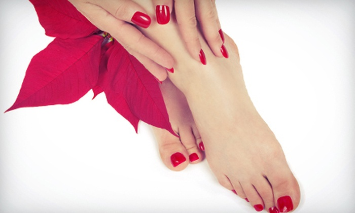 Edelweiss Nail Salon - Wilmette: $39 for Two Mani-Pedis at Edelweiss Nail Salon ($80 Value)