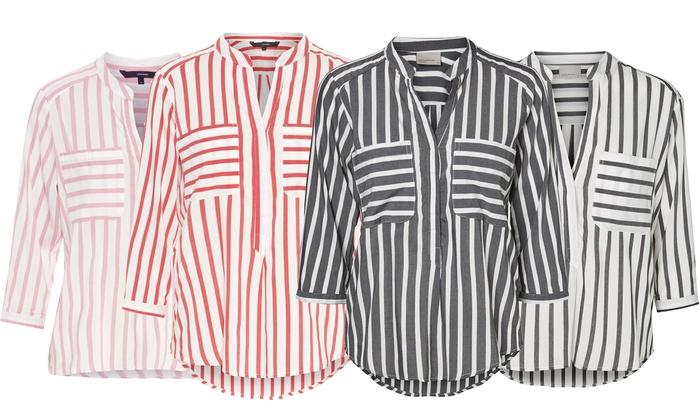 huge selection of 32149 4c535 Vero Moda Gestreifte Damen-Bluse | Groupon Goods