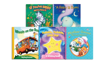 Set of 10 Padded Children's Board Books.