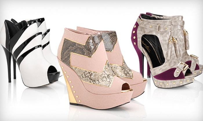 Shoe Privee: $25 for $50 Worth of Shoes with Free Shipping from Shoe Privee