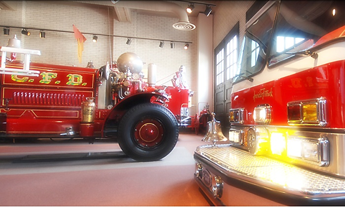 Fire Museum of Greater Cincinnati - West End: Fire Museum of Greater Cincinnati Outing for Two or Four Adults or Two-Alarm Membership (Up to 53% Off)