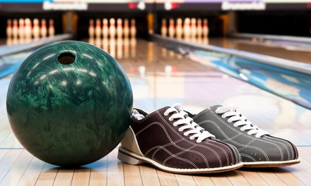 2 Hours of Bowling w/ Shoe Rentals & a 16-Inch Pizza for up to Six at Ranch Bowl (Up to 75% Off)